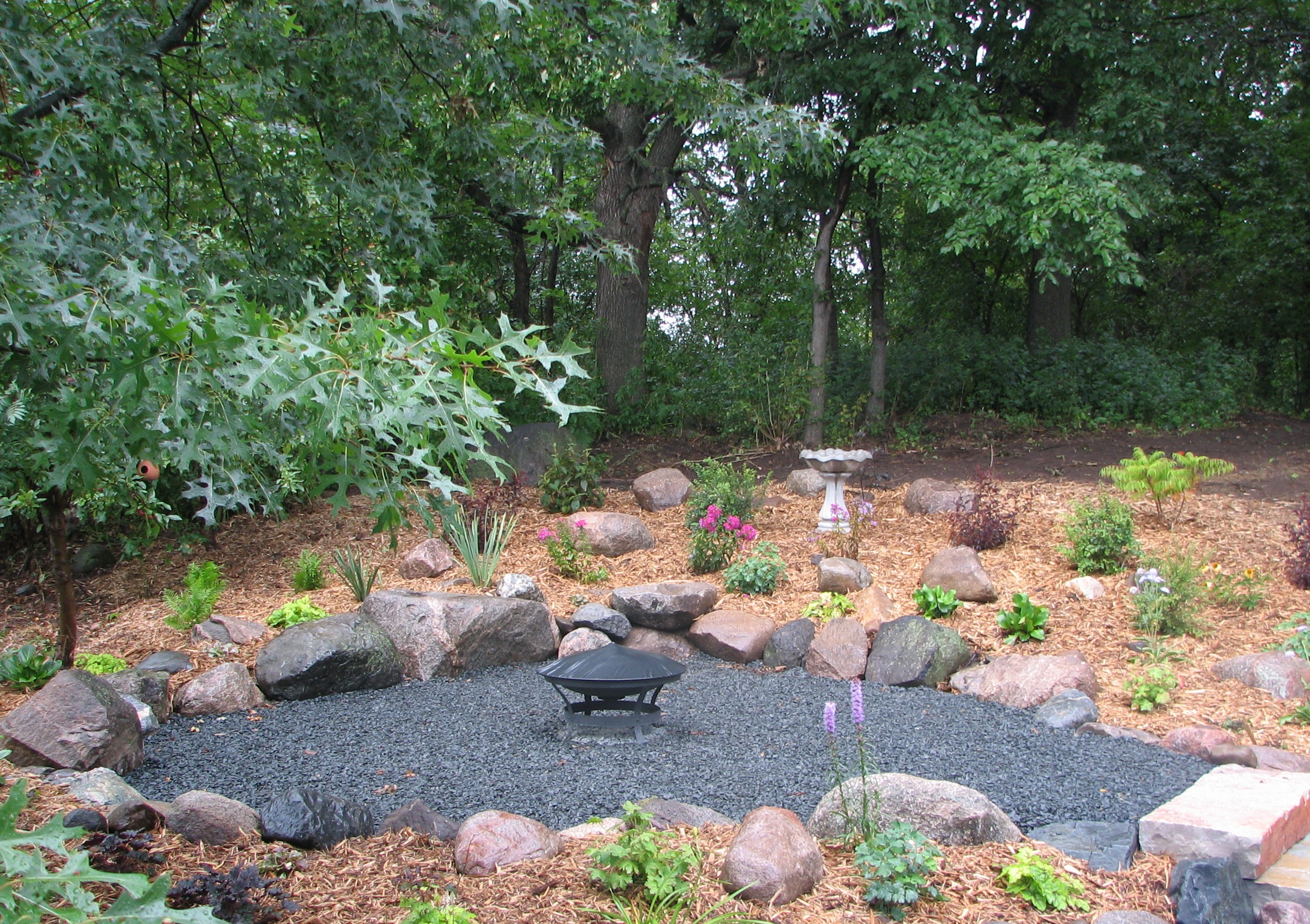 Backyard Fire Pit Ideas Landscaping Various