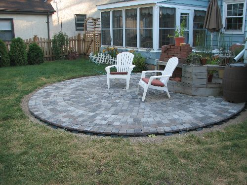 Patio Do It Yourself : Patio pavers